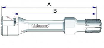 Воздухонепроницаемый удлинитель из жесткого пластика 42564-68